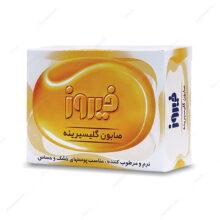 صابون گلیسیرینه فیروز پوست خشک و حساس 100g