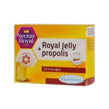 قرص رویال ژلی و پروپولیس Royal Jelly+Propolis ویتارمونیل 28 عددی