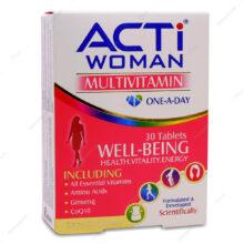 کپسول مولتی ویتامین اکتی وومن ACTi WOMAN لیبرتی 30 عددی