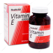 کپسول ویتامین ایی 600 Vitamin E هلث اید 30 عددی