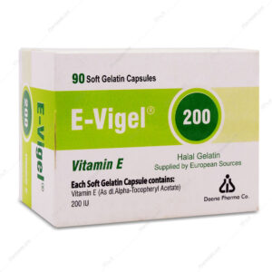 کپسول ویتامین ایی ایویژل 200 E-Vigel دانا 90 عددی