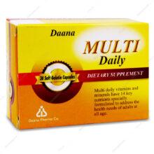 کپسول مولتی دیلی Multi Daily دانا 30 عددی