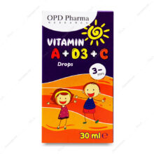 قطره ویتامین Vitamin A D3 C او پی دی فارما 30ml