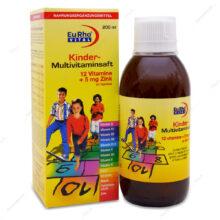 شربت مولتی ویتامین کیندر Kinder یوروویتال 200ml