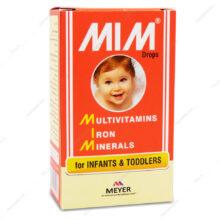 قطره مولتی ویتامین میم Mim مایر ویتابیوتیکس 30ml