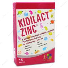 ساشه کیدی لاکت زینک KidiLact zinc زیست تخمیر 15 عددی