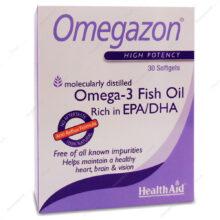 کپسول امگازون Omegazon هلث اید 30 عددی