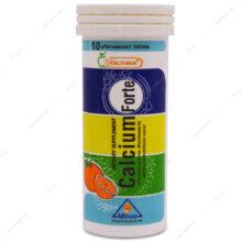 قرص جوشان کلسیم فورت Calcium Forte هلثی مین 10 عددی