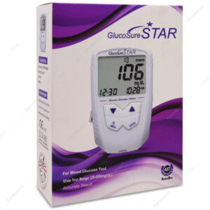 دستگاه تست قند خون گلوکوشور استار GLUCOSURE STAR اپکس بیو