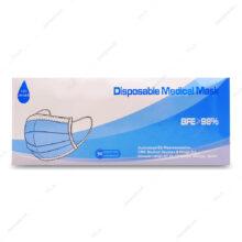 پک 50 عددی ماسک سه لایه آبی رنگ Sui Zhian – وارداتی Medical