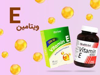 بنر ویتامین E فروش ویژه