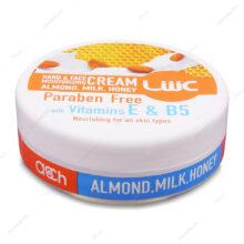 کرم مرطوب کننده شیر عسل بادام  Honey Milk عش 100ml