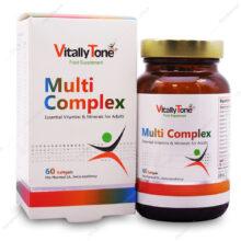 سافت ژل مولتی کمپلکس Multi Complex ویتالی تون 60 عددی