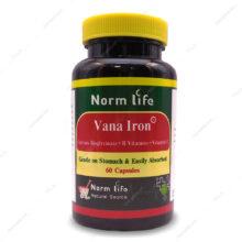 کپسول وانا آیرن Vana Iron نورم لایف 60 عددی