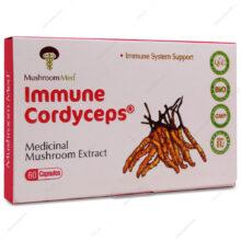 کپسول ایمیون کوردیسپس Immune Cordyceps ماشروم مد 60 عددی