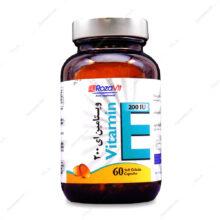 سافت ژل ویتامین ایی 200 واحدی Vitamin E  رزاویت 60 عددی