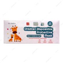 ماسک سه لایه پلدار کودکان Children Disposable پسرانه 50 عددی