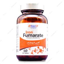 قرص روکشدار آهن فومارات Iron Fumarate  رزاویت 60 عددی