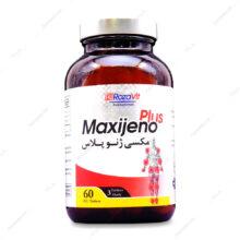 قرص روکشدار مکسی ژنو پلاس Maxijeno Plus  رزاویت 60 عددی