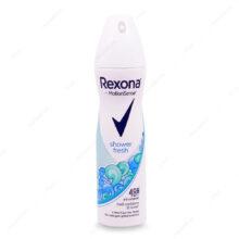 اسپری ضد تعریق شاور فرش shower fresh زنانه رکسونا 150ml