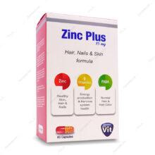 کپسول زینک پلاس Zinc plus 15mg استار ویت 60 عددی