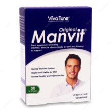 کپسول نرم ژلاتینی من ویت Manvit Original ویوا تیون 30 عددی