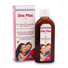 شربت زینک پلاس Zinc Plus پرتقالی استار ویت 200ml