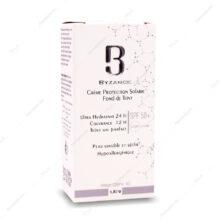 ضد آفتاب کرم پودری SPF50 پوست خشک و حساس بیزانس 30ml
