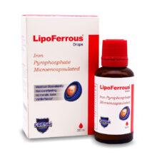 قطره آهن لیپوفروس LipoFerrous وانیلی فرش مورنینگ 30ml