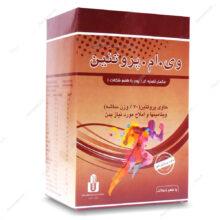 ساشه وی.ام.پروتئین V.M.Protein شکلاتی ایران دارو 10 عددی