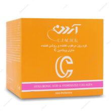 کرم روز مرطوب کننده و روشن کننده ویتامین ث C_FACTOR آردن 150ml