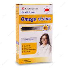 کپسول ژلاتینی امگا ویژن Omega vision دانا 40 عددی