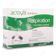 کپسول اکتیوا ول بینگ رسپیریشن Respiration رستا ایمن دارو 30 عددی