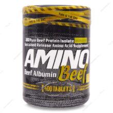 قرص آمینو بیف AMINO Beef ژن استار 400 عددی
