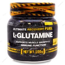 پودر ال گلوتامین L-GLUTAMINE ژن استار 500g