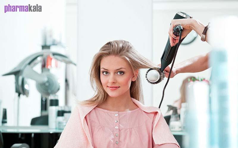 برس گرد صاف کردن مو