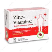 کپسول زینک و ویتامین ث Zinc Vitamin C دانا 30 عددی