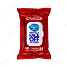 دستمال پاک کننده آرایش آنتی اکسیدانت ANTIOXIDANT دافی 55 عددی