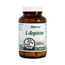 قرص ال آرژنین L-Arginine 500mg لایف پلن 60 عددی