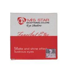 سایه چشم سه رنگ Mis STAR میستار مدل ME01 وزن 8g
