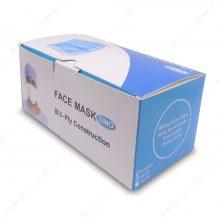 پک 50 عددی ماسک سه لایه سفید پرستاری پلدار DMO