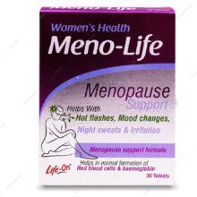 قرص منو لایف Menopause Meno-Life لایف آن 30 عددی