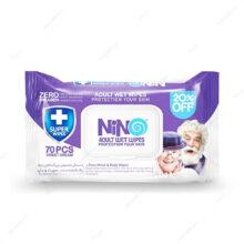 دستمال مرطوب بزرگسالان Adult wet wipes نینو ۷۰ عددی