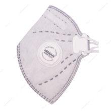 ماسک سوپاپدار 6 لایه کربن اکتیو N95 مداکس-Medoux