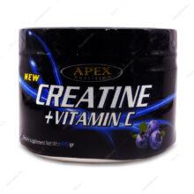 پودر کراتین+ویتامین ث Creatine+Vitamin C بلوبری اپکس 400g