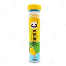 قرص جوشان ویتامین ث 500mg هلثی مین 20 عددی – انبه