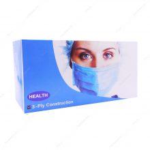 پک 50 عددی ماسک سه لایه سفید پرستاری پلدار HEALTH