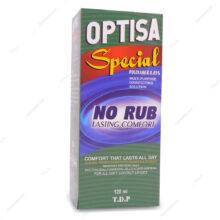محلول شستشوی لنز اپتیسا Optisa تیسا دارو پارس 120ml