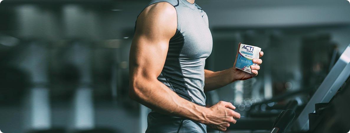 مکمل های مولتی ویتامین برای آقایان ورزشکار