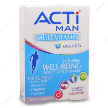 قرص مولتی ویتامین اکتی من ACTi MAN لیبرتی 30 عددی